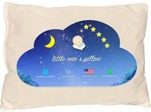 organic toddler pillow