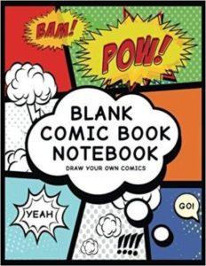 best comic sketchbook