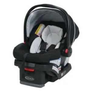 Narrow infant car seat