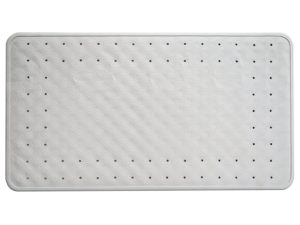 Natural rubber non-slip bath mat