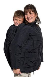 Babywearing winter coat