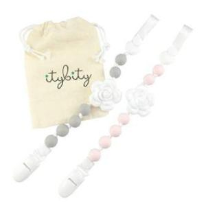 pacifier clip with a teether