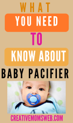 baby pacifier what you need to know