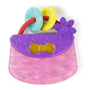 Water filled teething toy