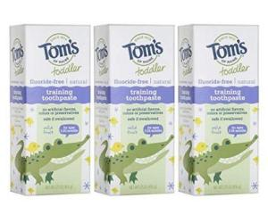 toms toddler toothpaste