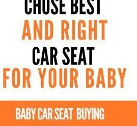 Baby car seat buying guide