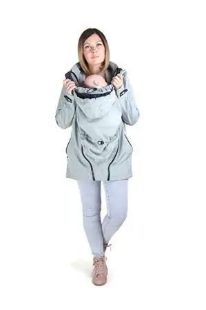 3 in 1 babywearing jacket