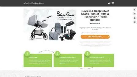Product Testing - SilverCross Nursery Furniture (UK)