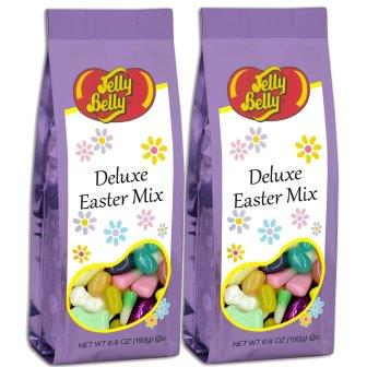 Jelly Belly Deluxe Easter Mix 6.8oz Gift Bag (Pack of 2)