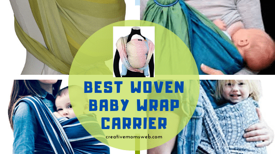 Woven baby wrap carrier