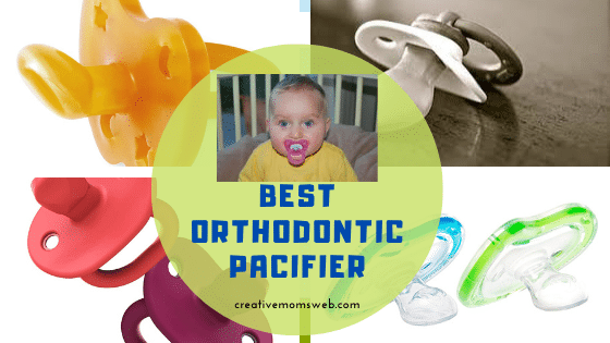 orthodontic pacifier  for baby and toddler