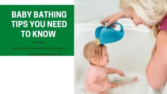 Baby bathing tips