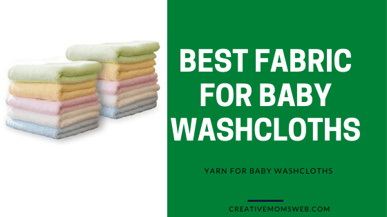 fabric for baby washcloths