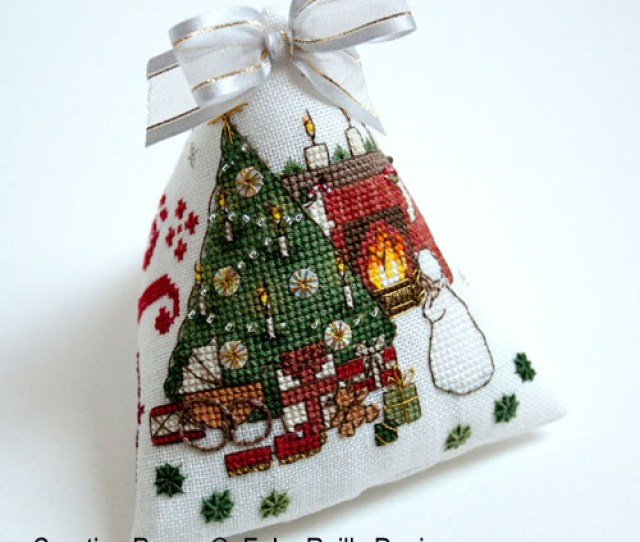 Faby Reilly Designs Victorian Christmas Ornament Cross Stitch Pattern