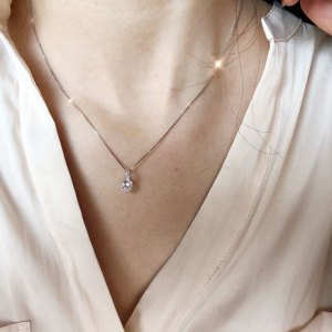 Aesthetic Charm Pendant Necklaces For Women Shine Zircon Choker Collar Chain On The Neck Jewellry Wedding Fashion Jewelry N426