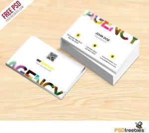 Creative Creative Business Card Free PSD Template