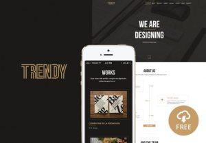 Creative Trendy ‰ÛÒ Creative One Page PSD Template