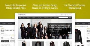 E-commerce PSD Template