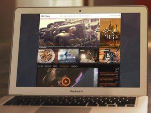Creative liFEsTlye ‰ÛÒ PSD website template
