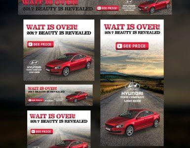 Car Promotion Banner Campaign