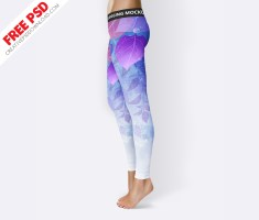 Legging Mockup Free Psd Download