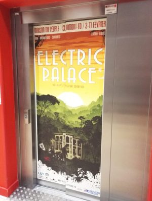 Ascenseur université Clermont Electric Palace
