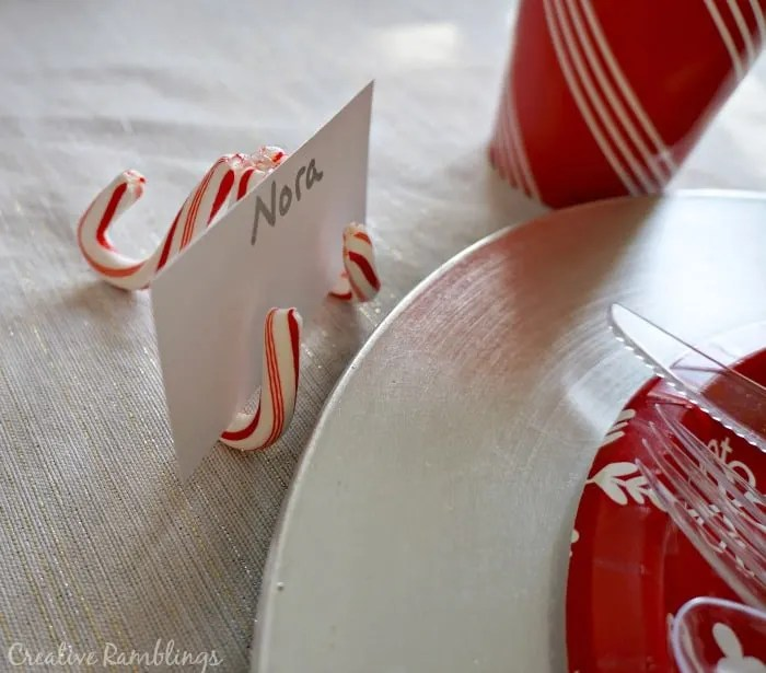 Festive And Inexpensive Christmas Table Creative Ramblings