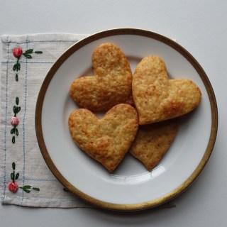 savory valentine biscuit