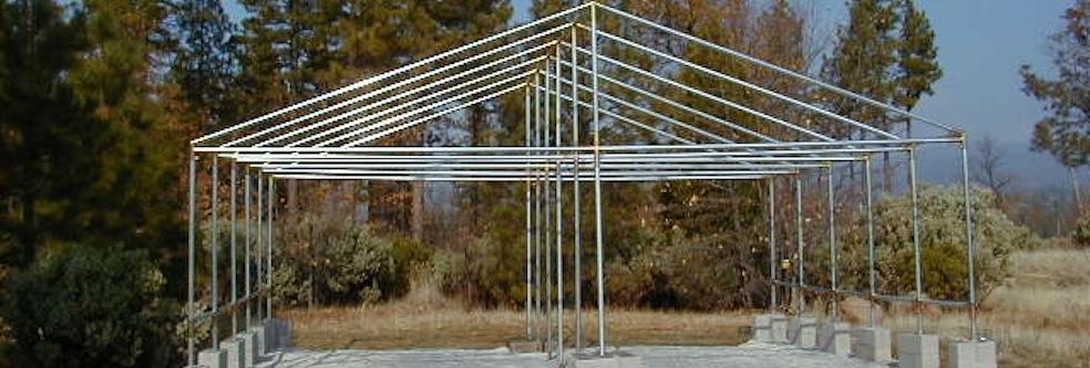 canopy kits poly tarps and frame