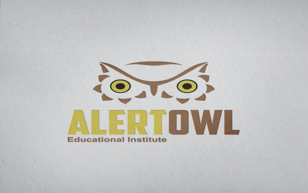 171e01b986d0d47c9e44b501a11d7e3e 35 Owl Logo designs For Your Inspiration