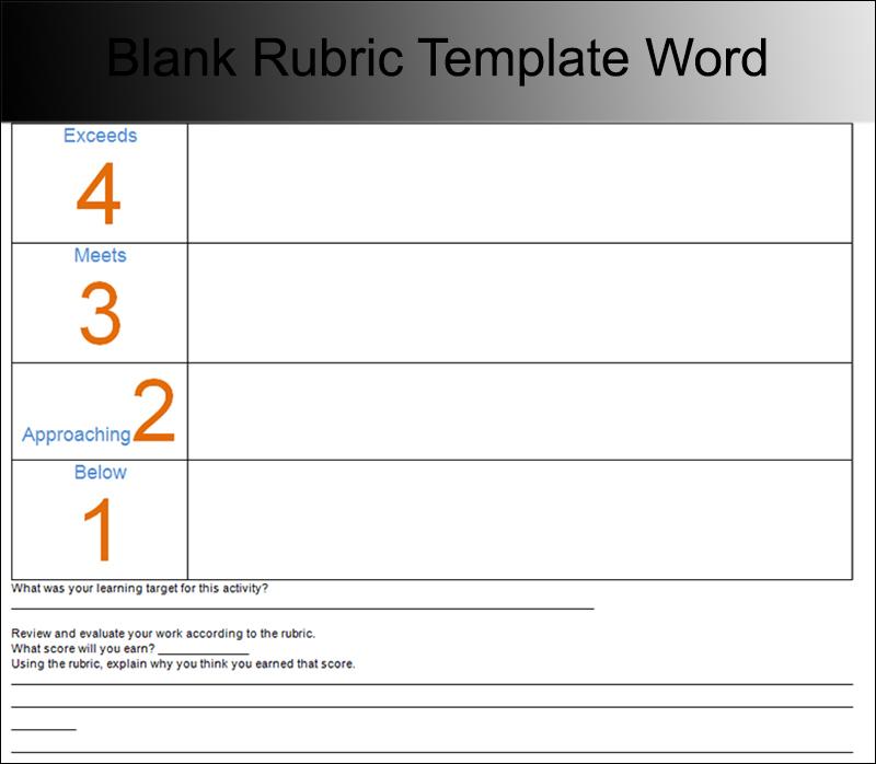 Template Free Joomla best of free joomla templates wordpress – Blank Rubric Template