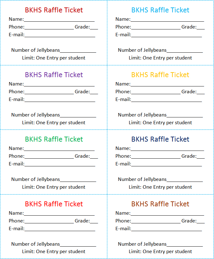Raffle Tickets Template Word. How To Get A Free Raffle Ticket