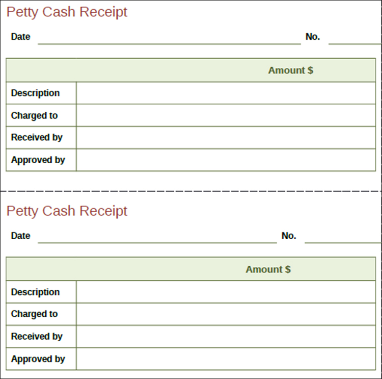 Pay Receipt Template for rent receipt form cash receipt template – Pay Receipt Form