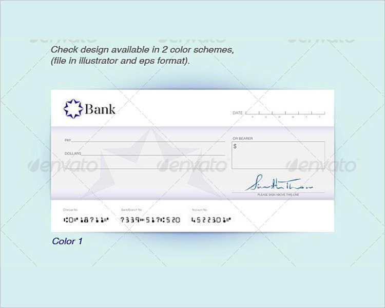 Novelty Check Template. 24 free bank check templates free amp ...