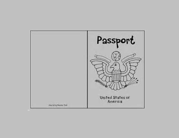 photograph regarding Free Printable Passport Template for Students named Pport Template Printable. trainer 39 s puppy editable cl