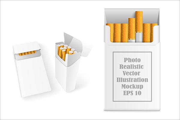 Download 21+ Cigarette Package Mockup | Creativetemplate