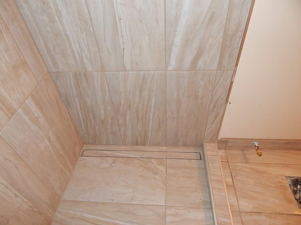 Beautiful Walk In Shower In Place Of Bathtub