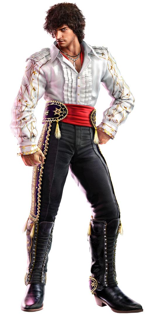 Miguel Art Tekken 6 Art Gallery
