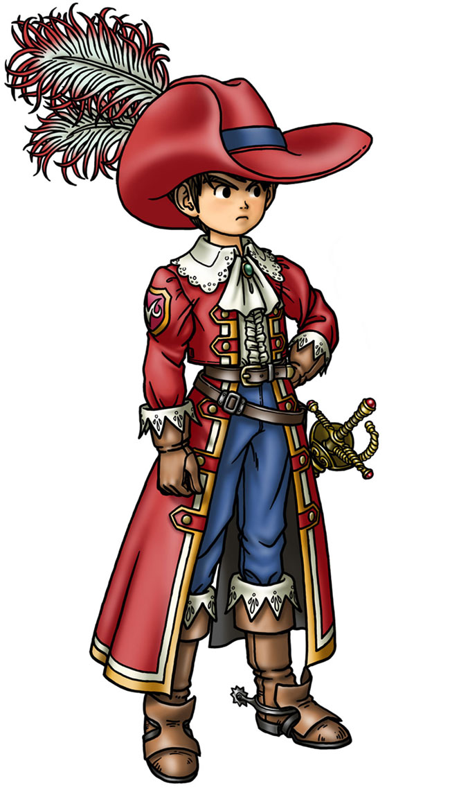 Armamentalist Male Characters Amp Art Dragon Quest IX