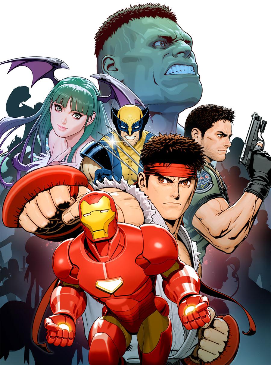 Character Poster Art Marvel Vs Capcom 3 Art Gallery