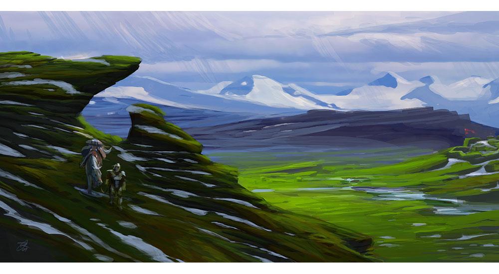 Whiterun City Tundra Art The Elder Scrolls V Skyrim Art