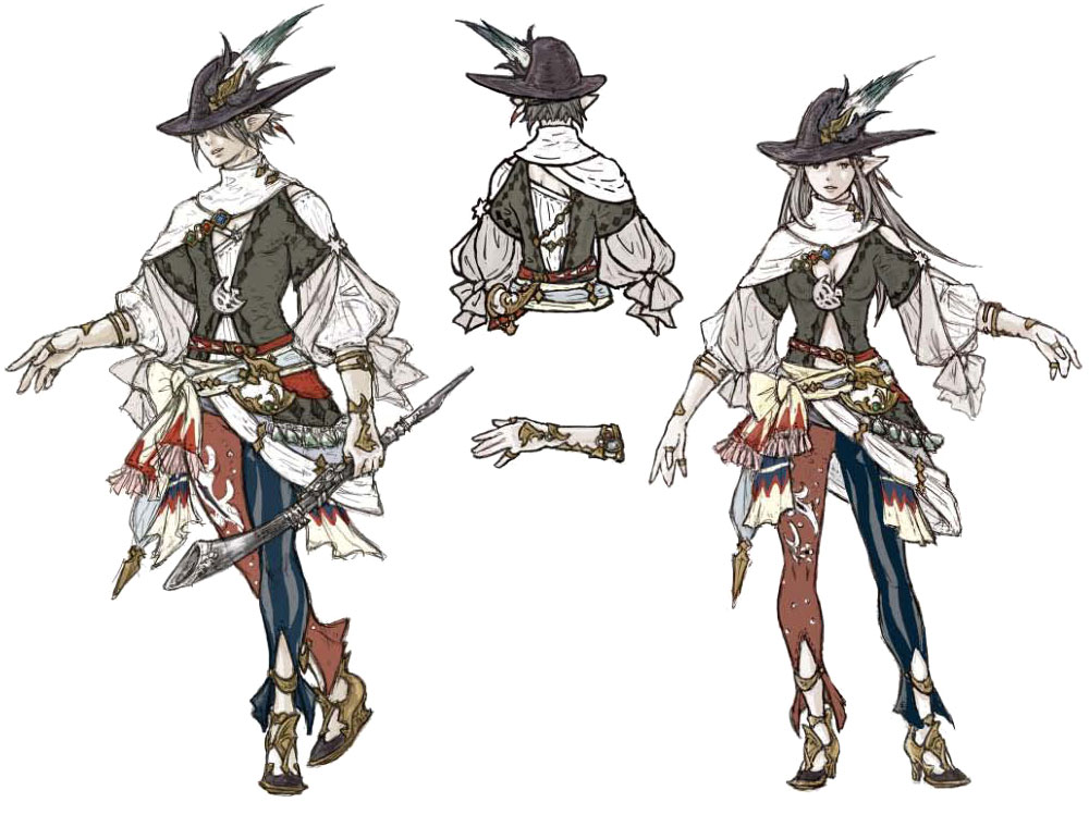 Bard Characters Amp Art Final Fantasy XIV A Realm Reborn