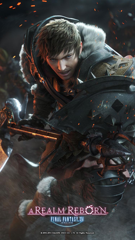 Hyur Warrior CG Characters Amp Art Final Fantasy XIV A