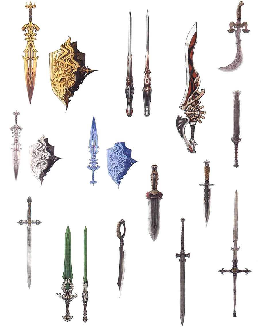 Gladiator Weapons Characters Amp Art Final Fantasy XIV
