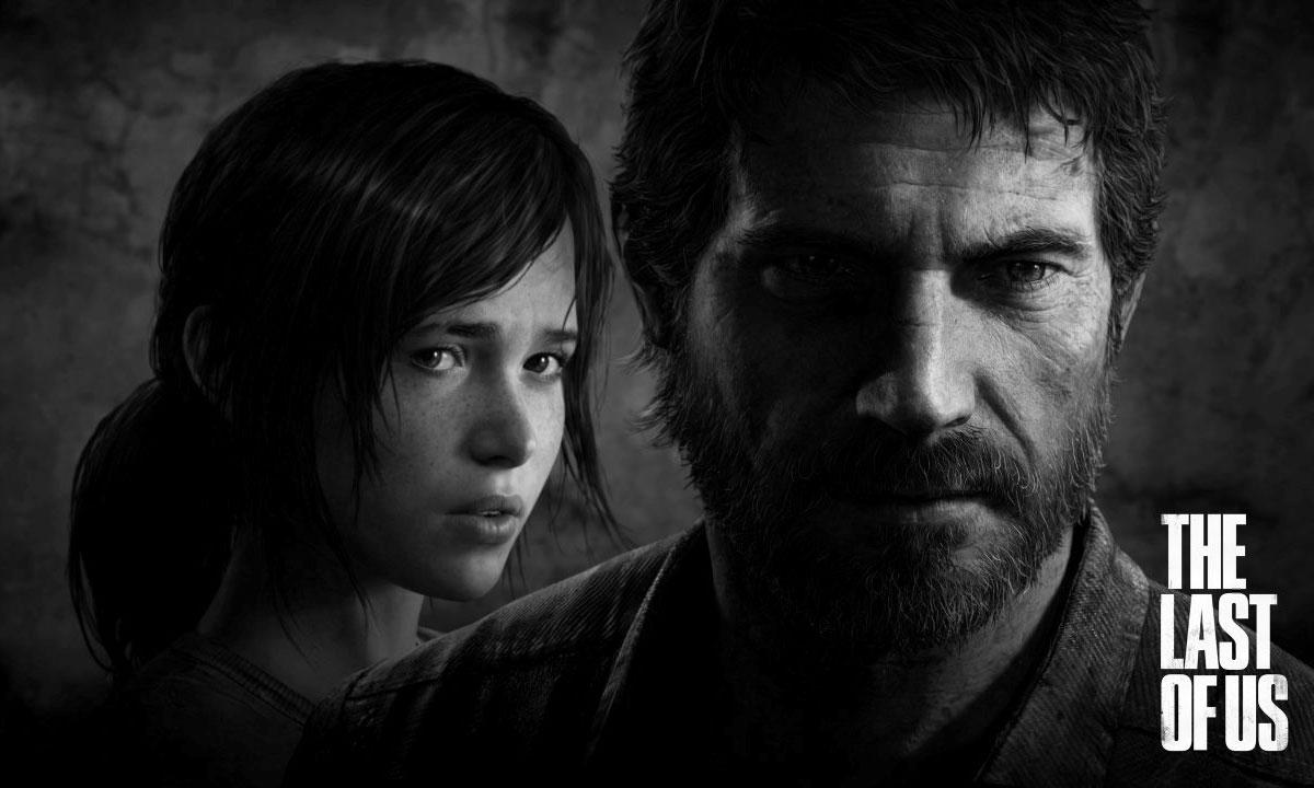 Ellie Amp Joel Faces Promo Art The Last Of Us Art Gallery