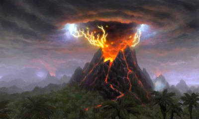 Volcano - Characters & Art - World of Warcraft: Cataclysm