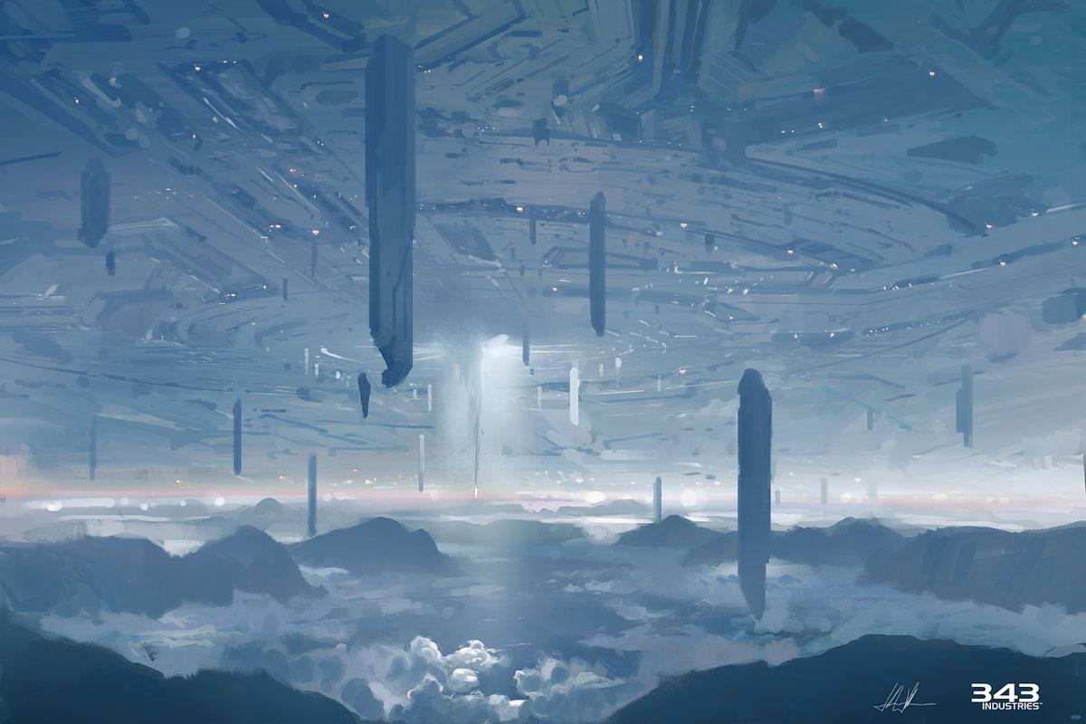 Requiem Ceiling Art Halo 4 Art Gallery