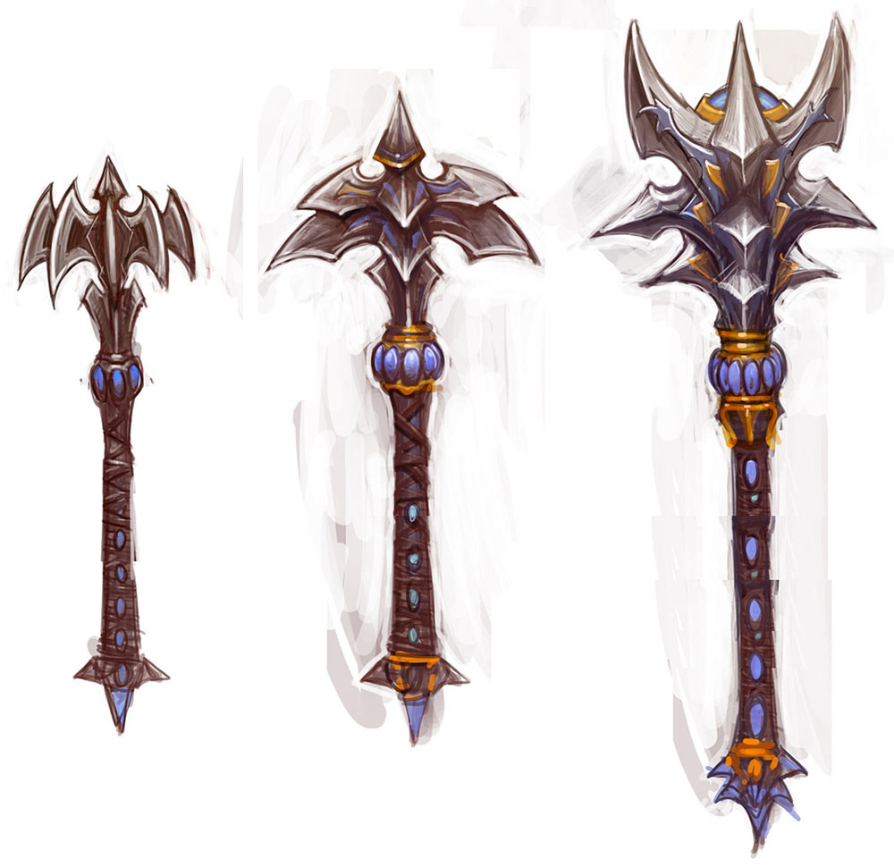 Mace Designs Characters Amp Art World Of Warcraft Wrath