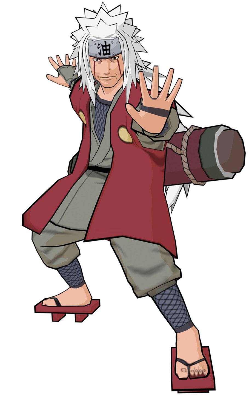 Jiraiya Characters Amp Art Naruto Shippuden Clash Of