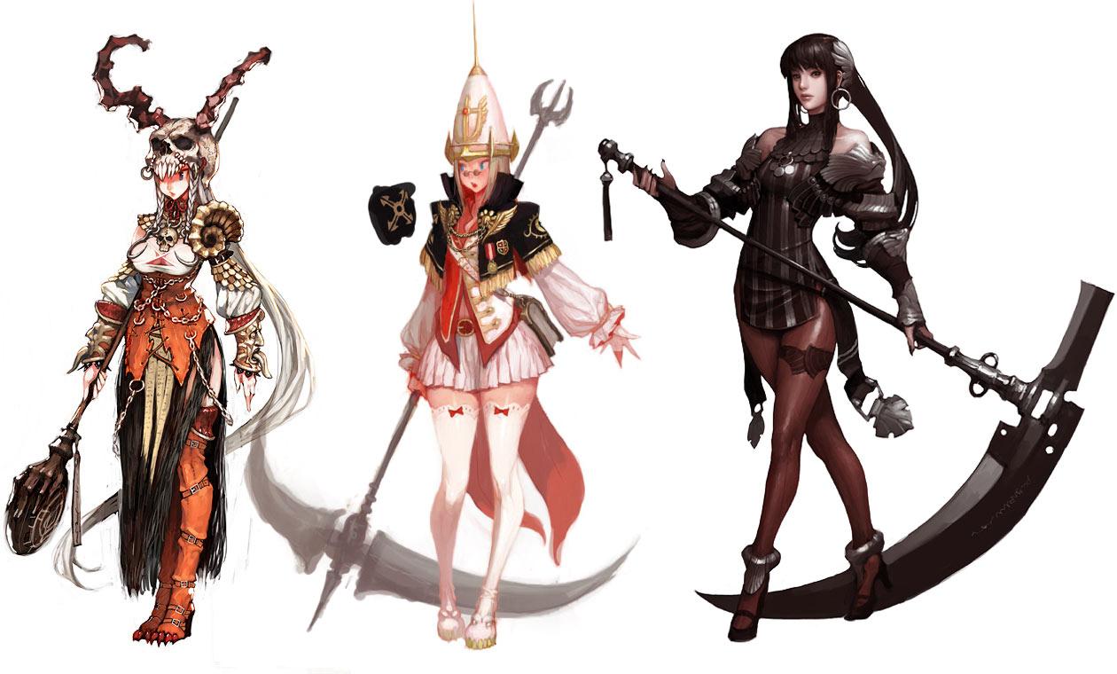 Evie Characters Amp Art Vindictus